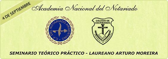 Seminario Teorico-Practico Laureano Arturo Moreira