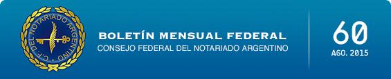 Boletín Mensual Federal - Num. 60 - Agosto 2015