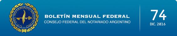 Boletín Mensual Federal - Num. 74 - Diciembre 2016