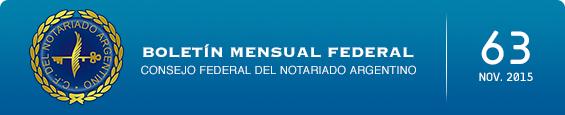 Boletín Mensual Federal - Num. 63 - Noviembre 2015