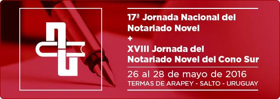 XVII Jornada Nacional del Notariado Novel