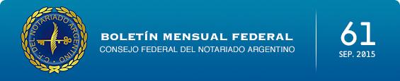 Boletín Mensual Federal - Num. 61 - Septiembre 2015