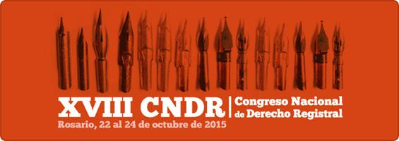 XVIII Congreso Nacional de Derecho Registral