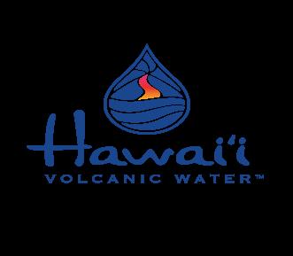 Hawaii Volcanic Water Logo