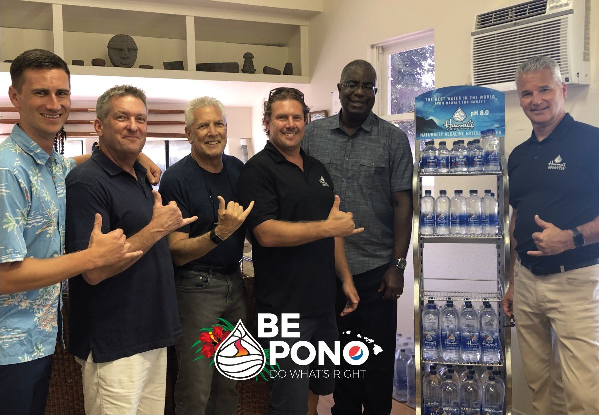 PepsiCo and Hawaii Volcanic Teams (L to R): Ryan Sobota, Johnnie Blankenship, Paul Kyno, Jason Donovan, Greg Adams, Vaughn Dickinson.