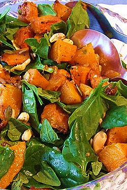 Delicious Pumpkin Salad