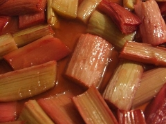 picture: cooked rhubarb