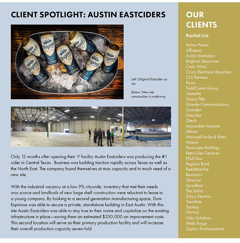 Client Spotlight: Austin Easciders