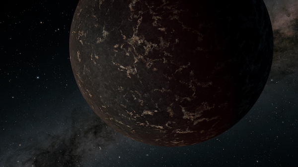 Exoplanet illustration