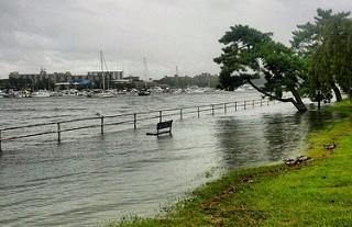 coastal flooding. photo by Bruno Sanchez-Andrade