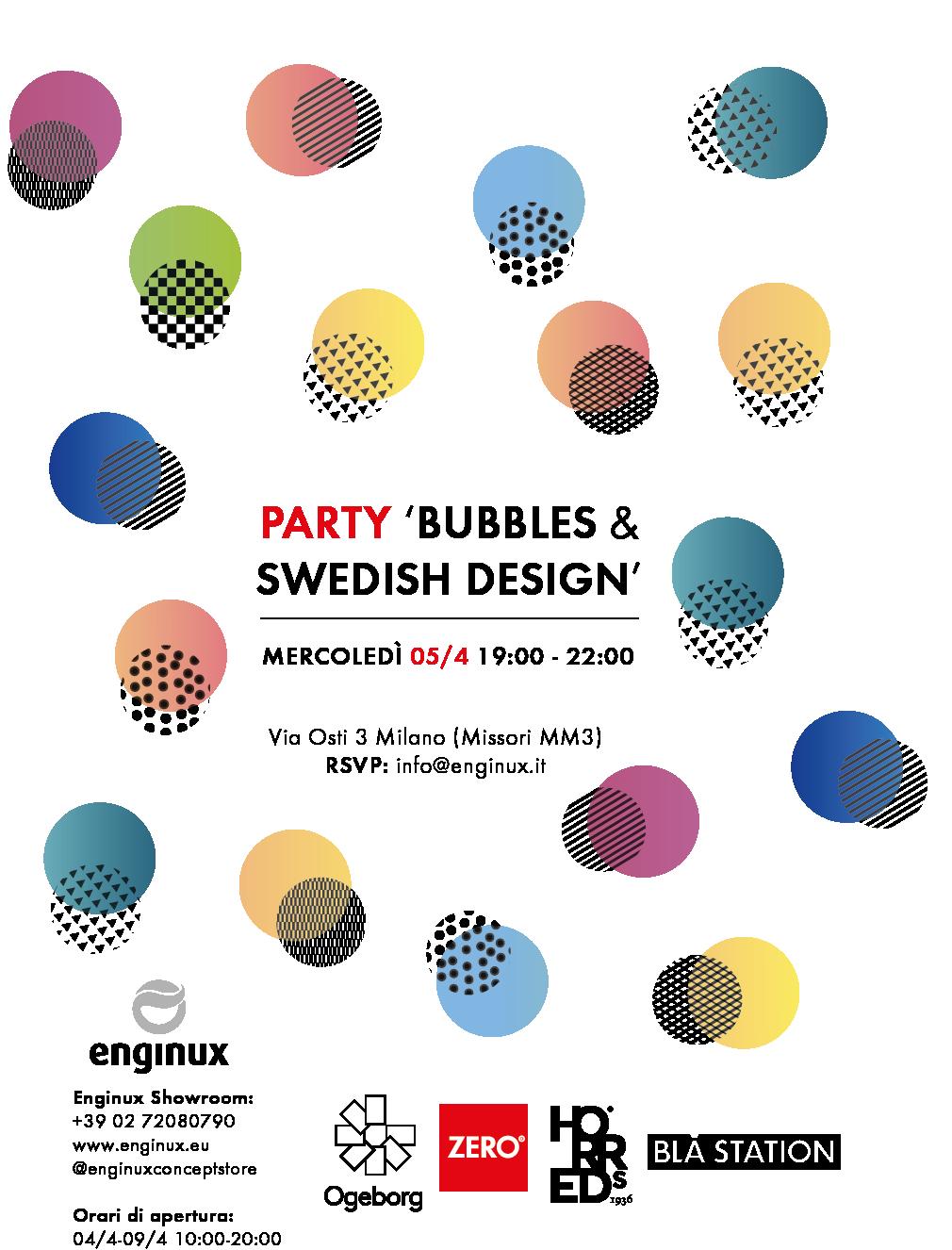 INVITO Party Bubbles and Swedish Design