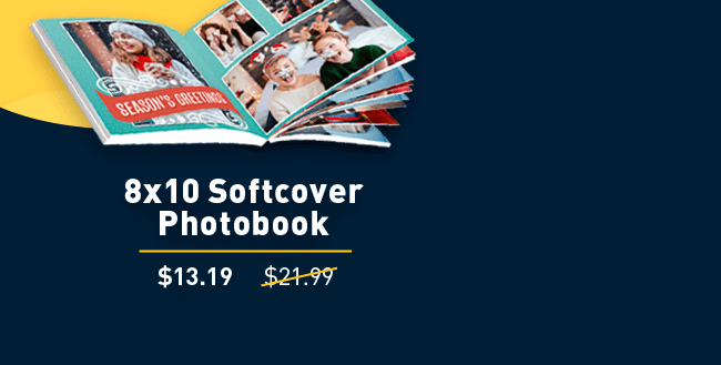 8x10 Softcover Photobook