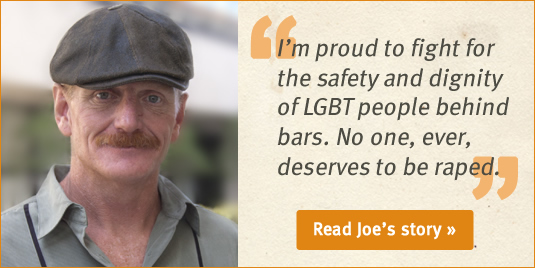 Joe Booth, prisoner rape survivor