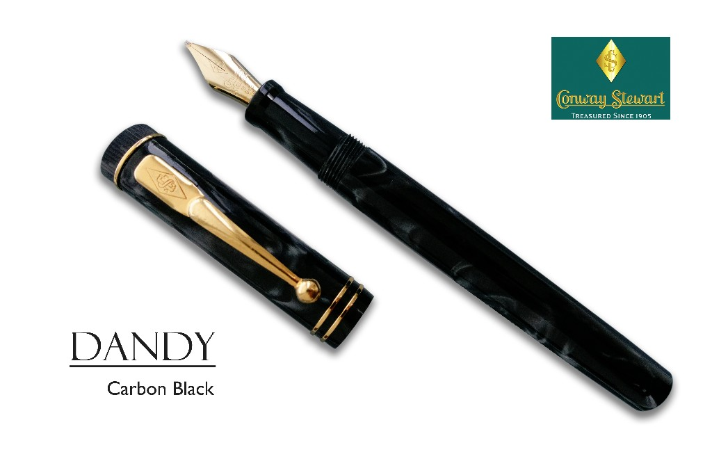 Conway Stewart Dandy in Carbon Black