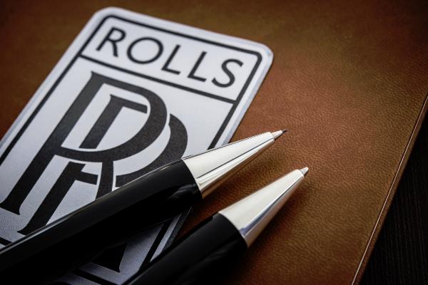 Rolls Royce pens from Bespoke British