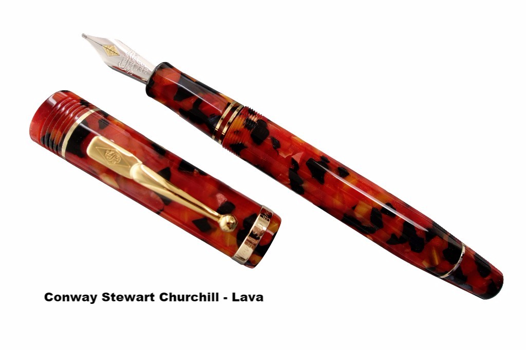 Conway Stewart Churchill Lava
