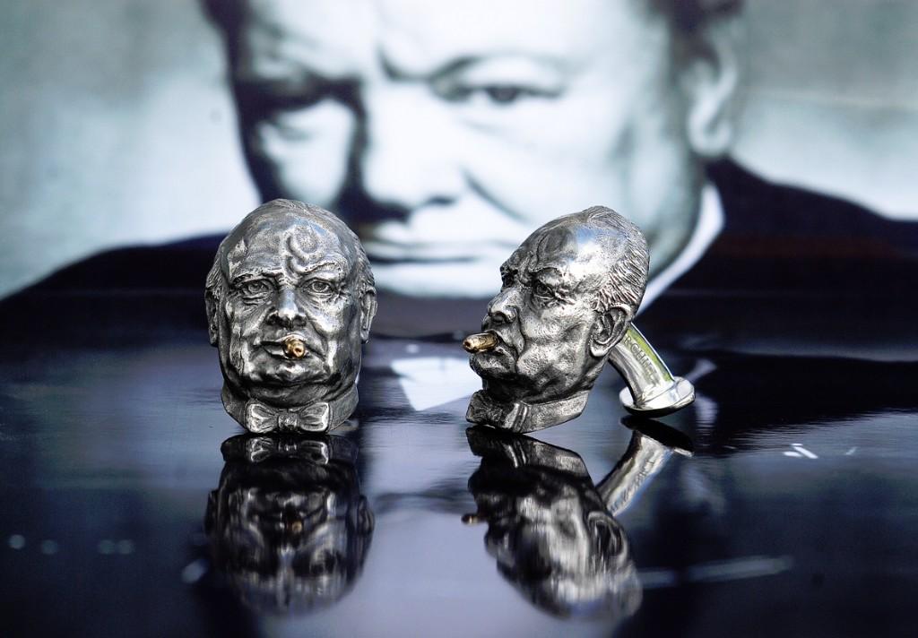 Winston Churchill 'Spitfire' Cufflinks