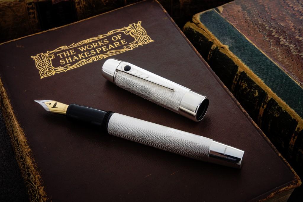 Stratford Pen Co Shakespeare Pen in Sterling Silver