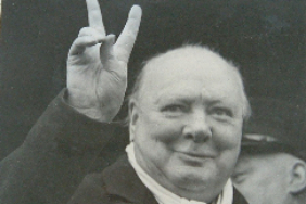 Sir Winston Churchill - Never Surrender!