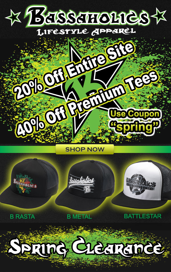 20% off entire site. 40% off premium tees. Use coupon spring.