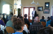 Charles Eisenstein visits Cotati