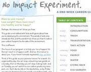 No Impact Experiment