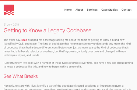 Getting To Know A Legacy Codebase