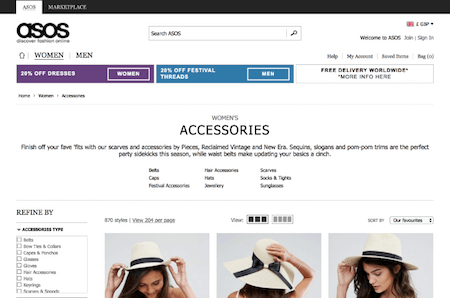 UX Guidelines for E-commerce