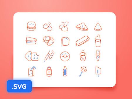 Free Food... Icons!