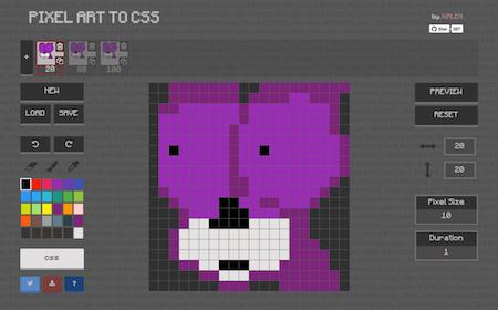 Pixel Art Meets CSS