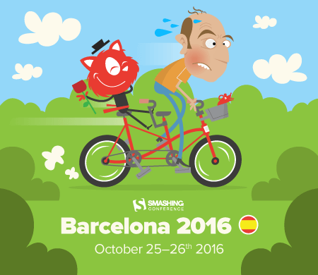 SmashingConf Barcelona, October 25-26th 2016