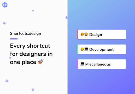 Shortcuts For Designers