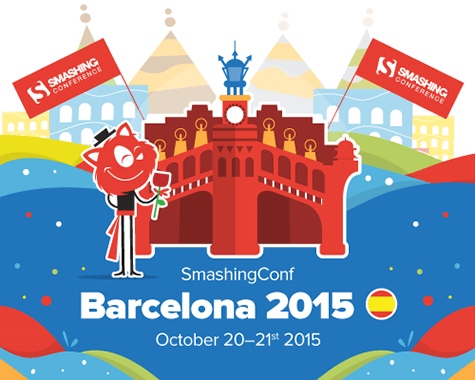 SmashingConf Barcelona, October 20-21st 2015