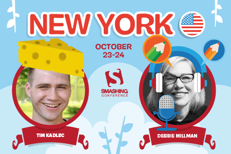 New York October 23-24 with Debbie Millman and Tim Kadlec, and many others!