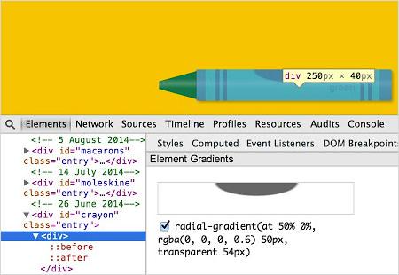 Handy CSS Gradient Inspector