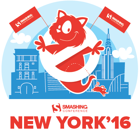 SmashingConf NYC 2016 will be taking place on June 14–15, 2016