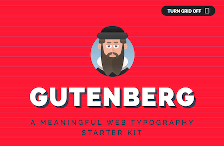 Let Gutenberg Take Care Of Your Macro Typography