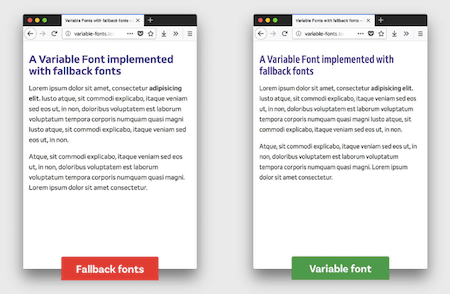 Fallback for variable fonts