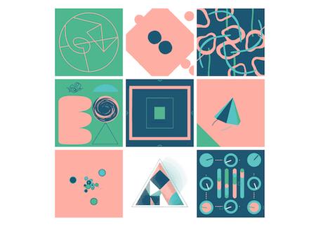 9 Designers, 9 Squares