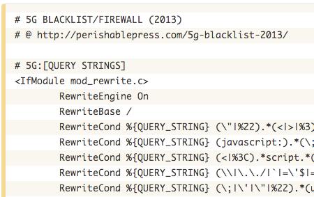 Blacklisting Malicious Code, With 5G Blacklist
