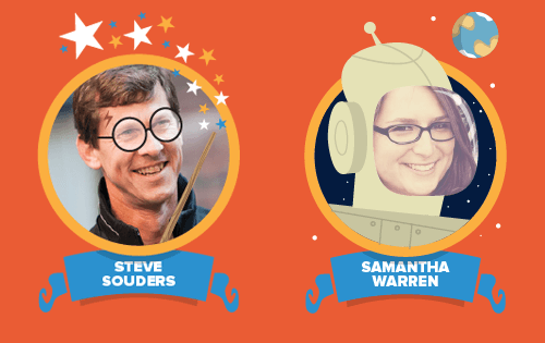 First speakers at SmashingConf LA: Steve Souders and Samantha Warren