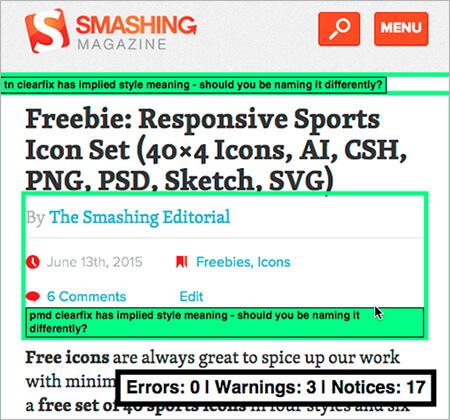 CSS Debugging Tools