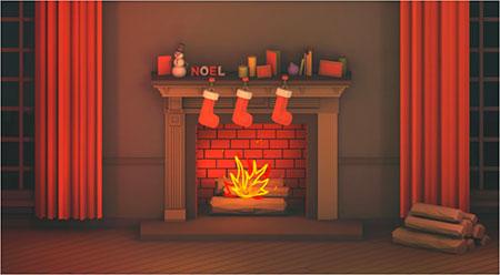 Digital Warmth With Digital Firelog