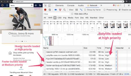 Loading priorities in Chrome DevTools