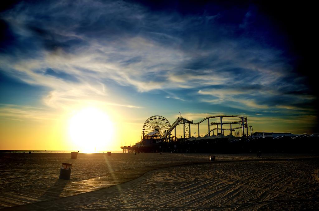 LA scenery