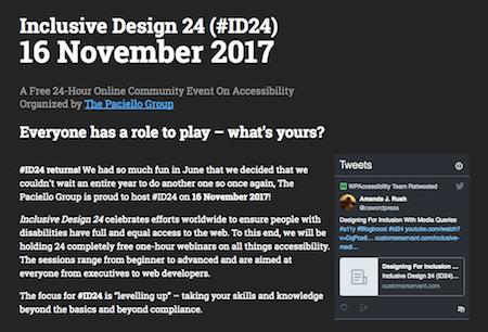 Inclusive Design 24