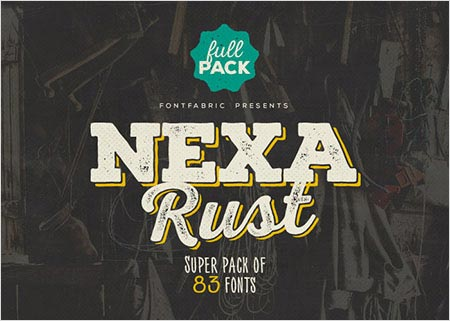 Free Fonts Round-Up: Nexa, Citizen Slab, League Spartan