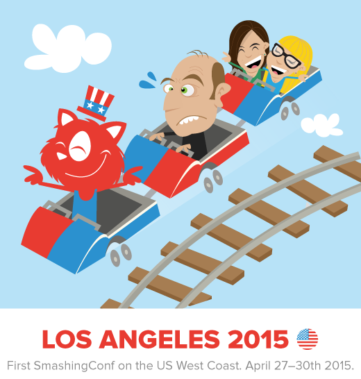 SmashingConf LA, April 27-29th 2015