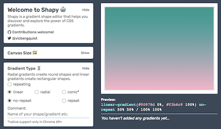 The Shapy UI