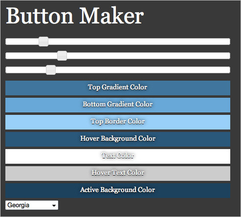 CSS3 Buttom Maker